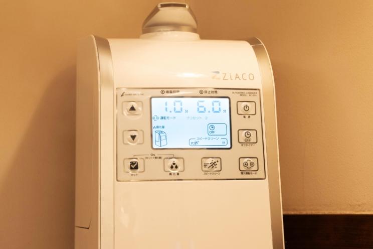 換気と温度・湿度管理を徹底しています
